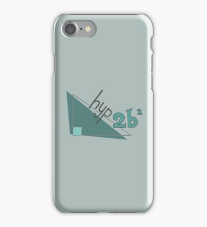 Hyp 2b(squared) - green iPhone Case/Skin