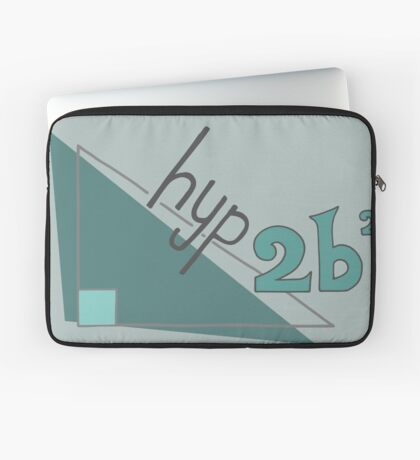 Hyp 2b(squared) - green Laptop Sleeve