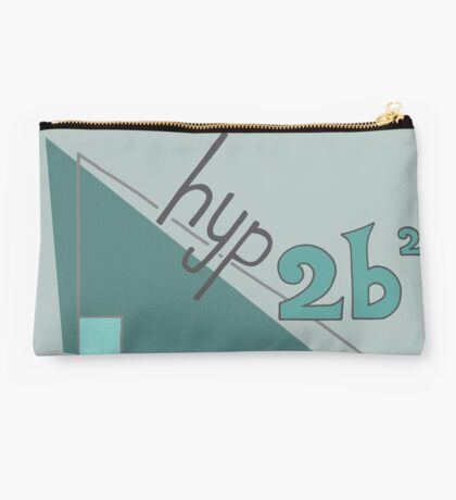 Hyp 2b(squared) - green Studio Pouch