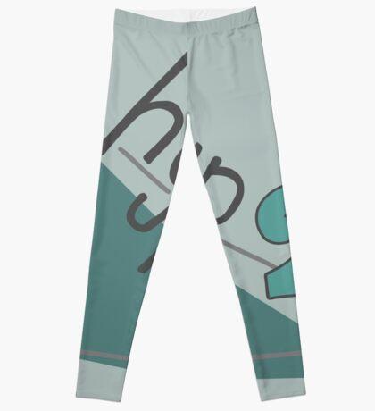 Hyp 2b(squared) - green Leggings