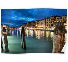 Venetian Docks Poster