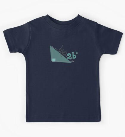 Hyp 2b(squared) - green Kids Tee
