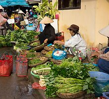 market vendors by Anne Scantlebury