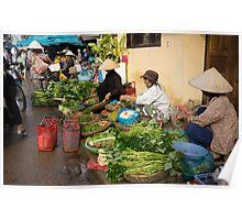 market vendors Poster