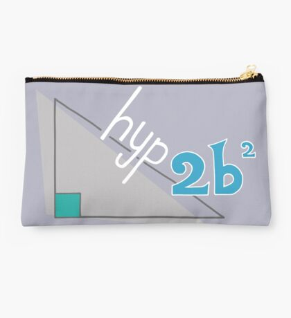 Hyp 2b(squared) - blue Studio Pouch