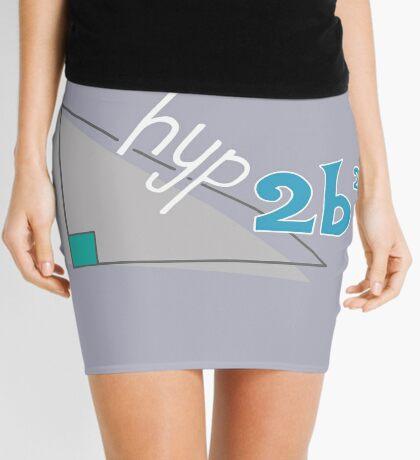 Hyp 2b(squared) - blue Mini Skirt