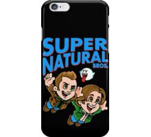 Super Natural Bros iPhone Case/Skin