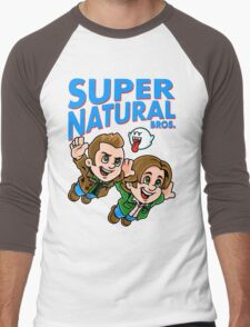 Super Natural Bros Men's Baseball ¾ T-Shirt