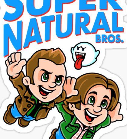 Super Natural Bros Sticker