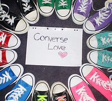 Converse All Stars Love by shadowfallx
