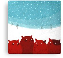 Rodent family picture Canvas Print