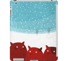 Rodent family picture iPad Case/Skin