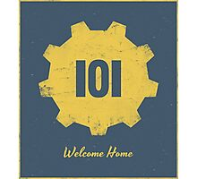 Welcome Home - 101 Photographic Print