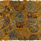 Scallops on Thai Banana Paper by IslandFishPrint