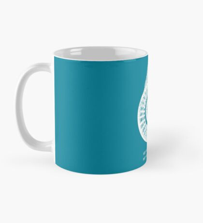 Spiral Shell with Math (blue) Mug