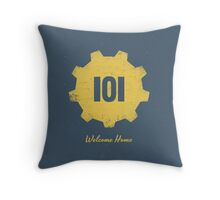 Welcome Home - 101 Throw Pillow