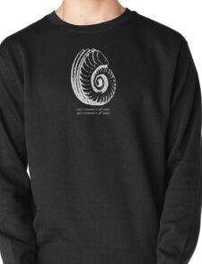 Spiral Shell with Math (white) T-Shirt