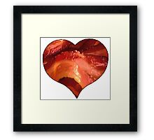 Bacon Love Framed Print