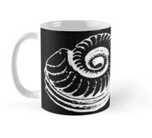 Spiral Shell with Math (white) Mug
