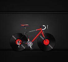 Vinyl Ride Record Bike by Kitty Bitty