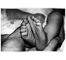 Little FEET, baby feet  Poster