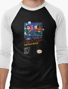 Fight Club 8 bit Style Men's Baseball ¾ T-Shirt
