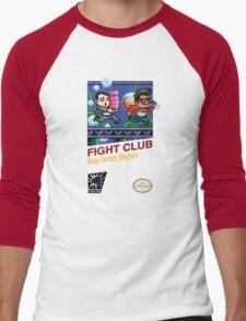 Fight Club 8 bit Style Men's Baseball ¾ T-Shirt