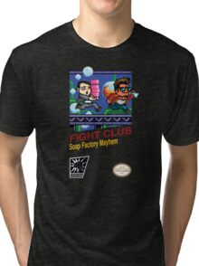 Fight Club 8 bit Style Tri-blend T-Shirt