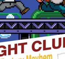 Fight Club 8 bit Style Sticker
