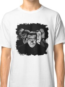 Classic Monsters Black & White POP! Classic T-Shirt