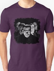Classic Monsters Black & White POP! Unisex T-Shirt