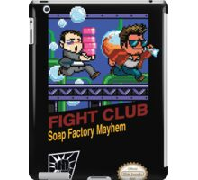 Fight Club 8 bit Style iPad Case/Skin