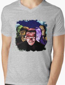 Classic Monsters COLOR POP! Mens V-Neck T-Shirt