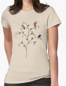 Wishing for the Tropics Womens Fitted T-Shirt