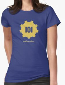 Welcome Home - 101 Womens Fitted T-Shirt