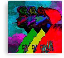 I Watched My Brain Turn Ashtray Canvas Print