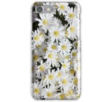 Daises, daises and more daises. iPhone Case/Skin