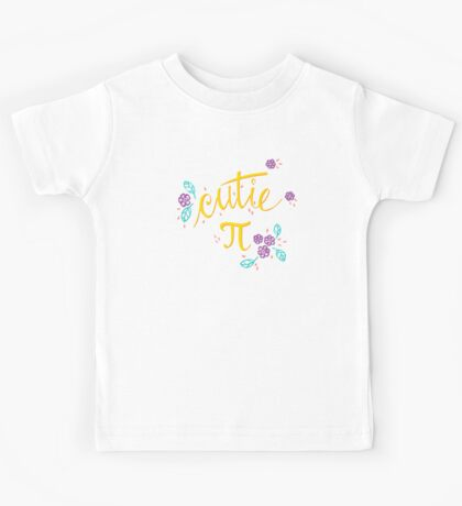 Cutie Pi (Pink) Kids Clothes