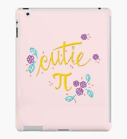 Cutie Pi (Pink) iPad Case/Skin
