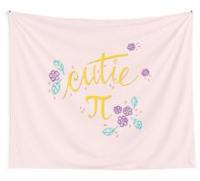 Cutie Pi (Pink) Wall Tapestry
