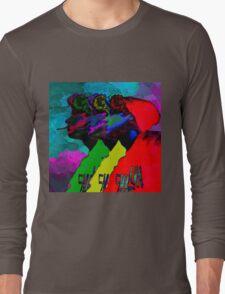 I Watched My Brain Turn Ashtray Long Sleeve T-Shirt