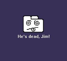 He's dead, Jim! by qwertyness