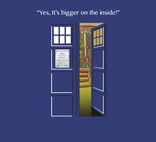 Doctor Who Tardis Bigger Inside Unisex T-Shirt