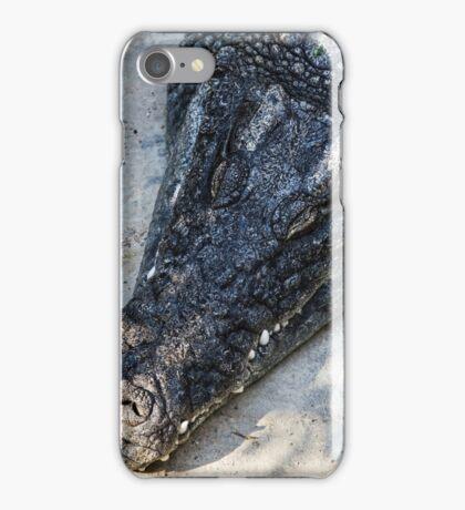 crocodile dunsleepy iPhone Case/Skin