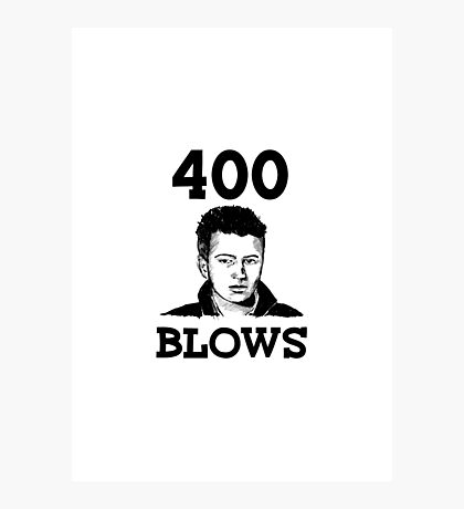 "Francois Truffaut's ""400 Blows Photographic Print"