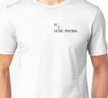 No to Homophobia 2 Unisex T-Shirt