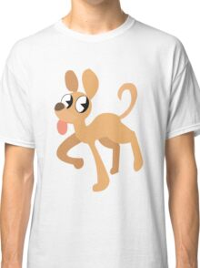 simplistic dog  Classic T-Shirt