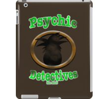 Psychic Detectives, Est. 2006 (Stressed) iPad Case/Skin