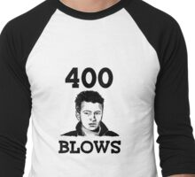 "Francois Truffaut's ""400 Blows Men's Baseball ¾ T-Shirt"