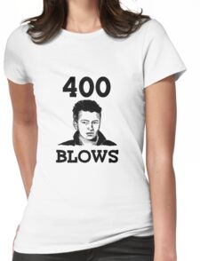 """Francois Truffaut's """"400 Blows Womens Fitted T-Shirt"""
